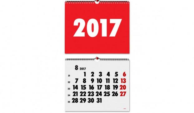 calendario vincon 2017 clasicos diseno barcelona pared