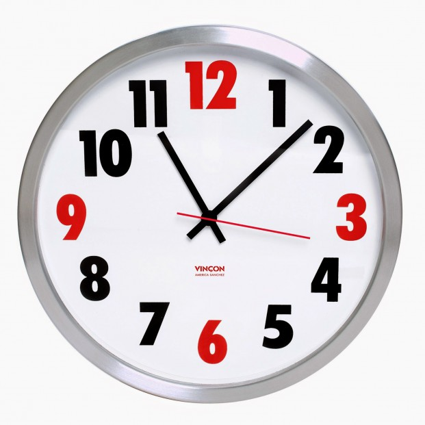 reloj de pared vincon