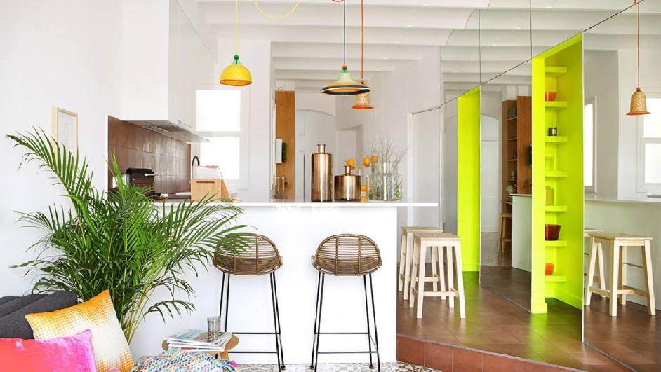 pequeno piso en barcelona alquiler de miel arquitectos