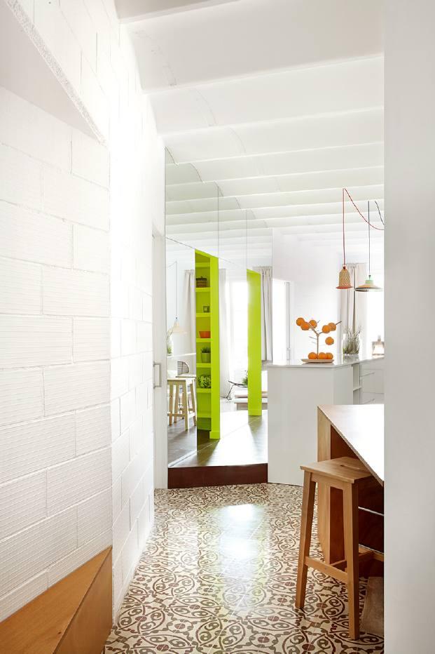 ideas en pequeno piso en barcelona diariodesign