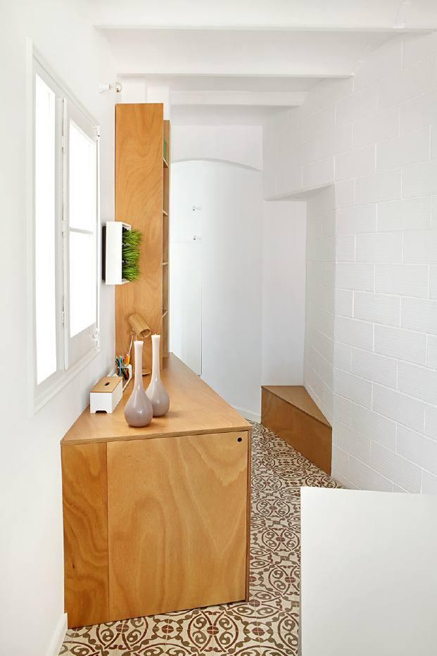 suelos hidraulicos en un pequeno piso diariodesign