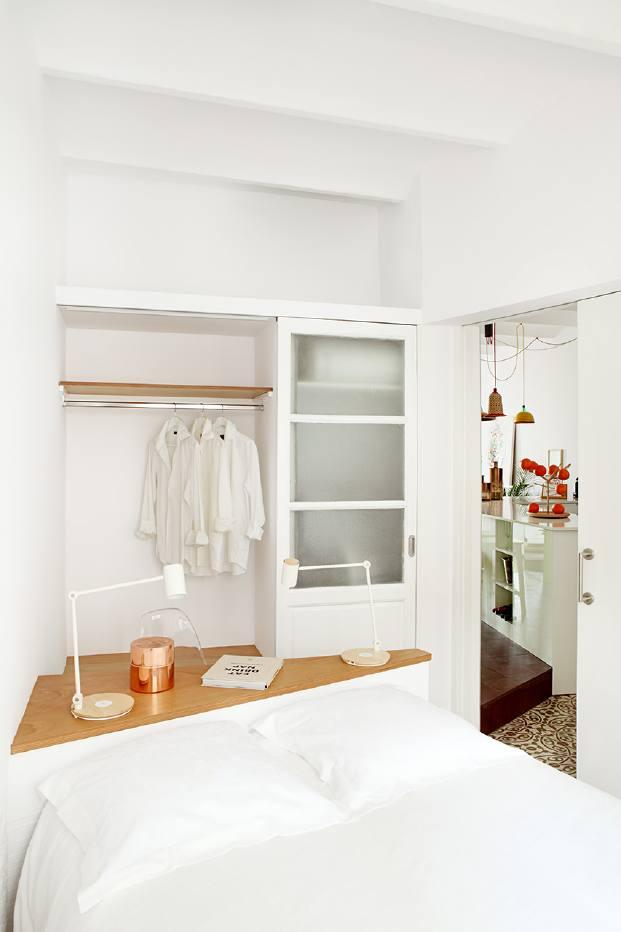 distribucion de un pequeno piso del estudi miel arquitectos en diariodesign