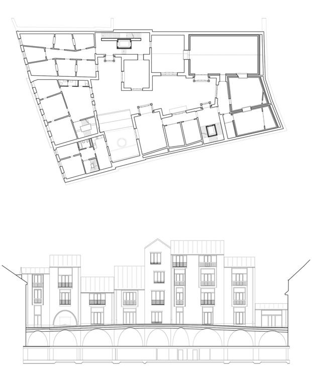 planos Jazz Campus en basilea  Buol & Zünd arquitectos diariodesign