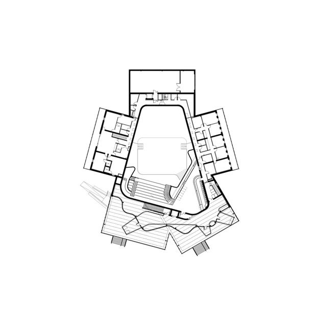 la belle electrique edificio musica electronica de herault arnod architectes diariodesign