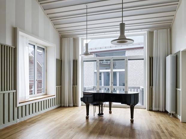 interior Jazz Campus en basilea  Buol & Zünd arquitectos diariodesign