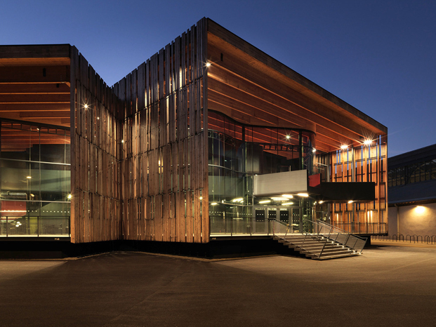 la belle electrique edificio musica electronica en grenoble de herault arnod architectes diariodesign