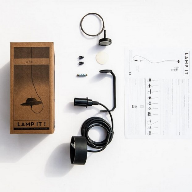 lamp it lampara con potente iman premio Campari en Design Market 2016