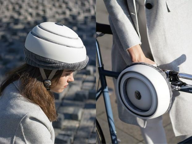 casco de bicicleta closca fuga diariodesign