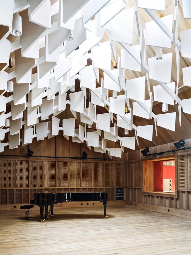 sala Jazz Campus en basilea  Buol & Zünd arquitectos diariodesign