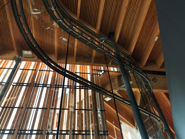 la belle electrique interior edificio musica electronica de herault arnod architectes diariodesign
