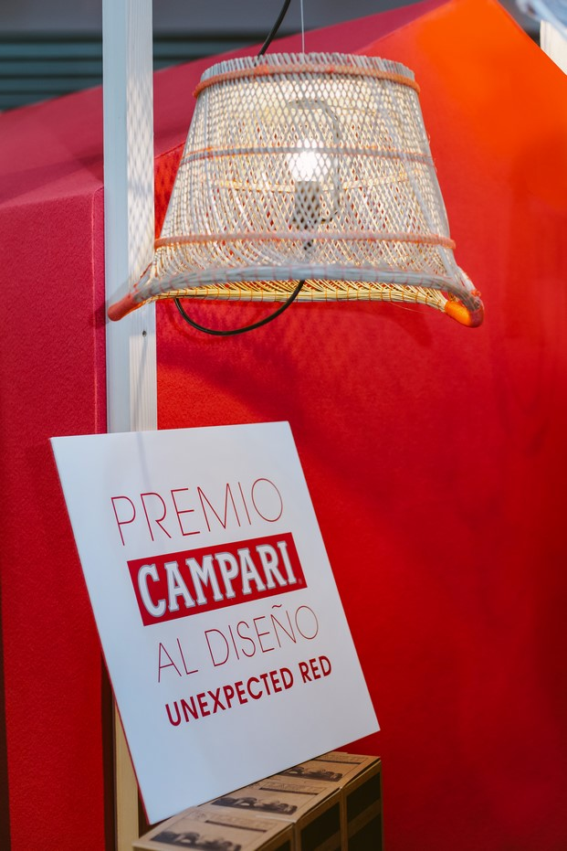 lamp it con cesto premio Campari en el design market