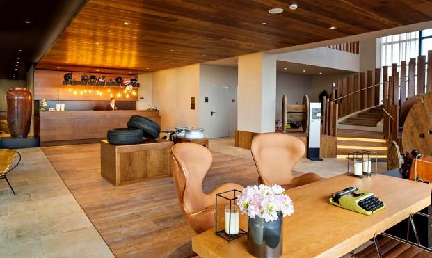 Hall hotel azor en isla San miguel