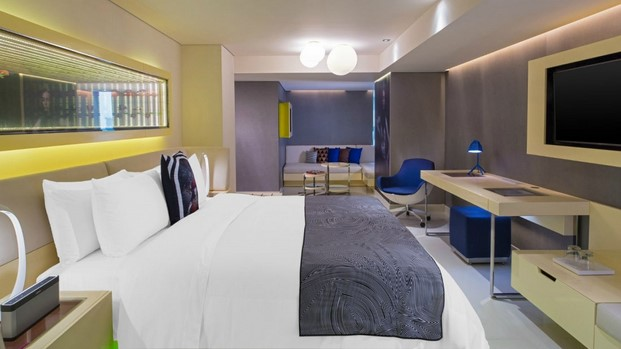 hotel w mexico city cool corner suite diariodesign