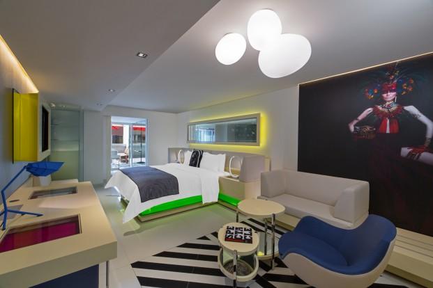 hotel w mexico city habitacion diariodesign