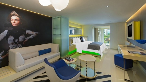 hotel w mexico city wonderful room diariodesign