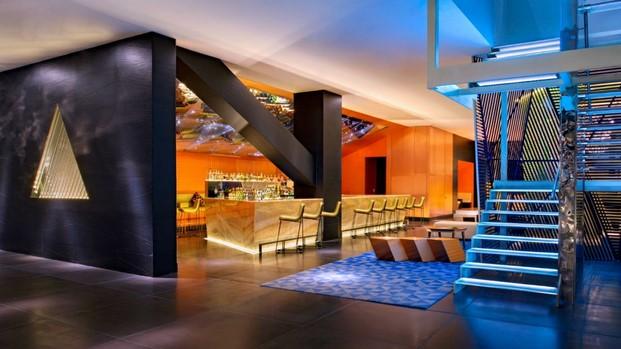 hotel w mexico living room bar