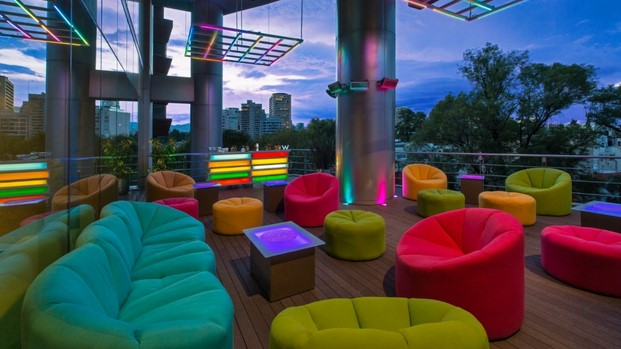 hotel w mexico lounge cocktail diariodesign