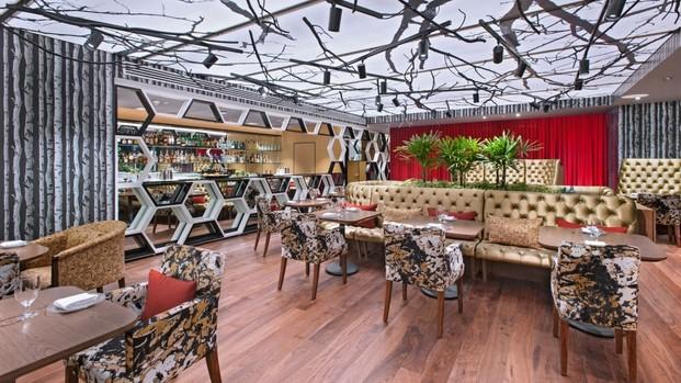 hotel w mexico terraza interior diariodesign