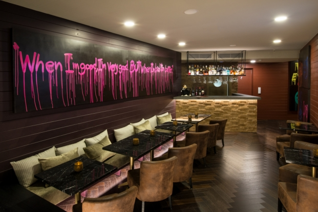 bar Vincci hoteles Mae West en Barcelona diariodesign