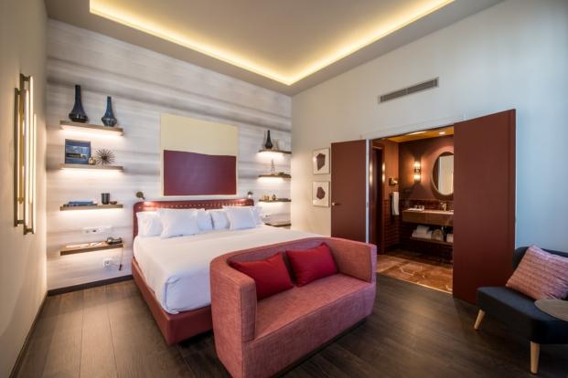 habitaciones Vincci hoteles Mae West en Barcelona diariodesign