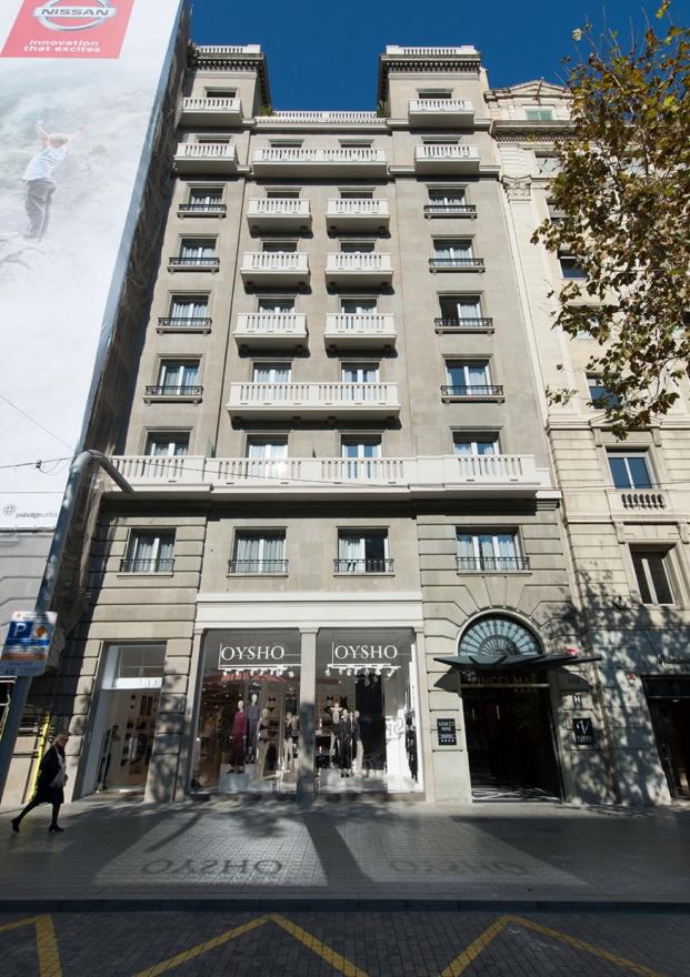 fachada del Mae West en Barcelona de vincci hoteles