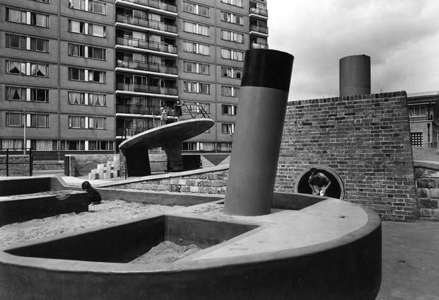 brutalismo de John Maltby RIBA Library Photographs Collection