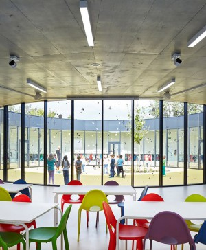 1 New pavilion of an elementary school diariodesign 2