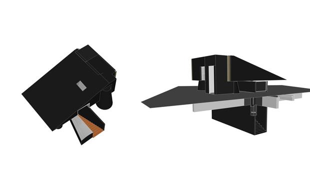 tienda negro, mejor interior del año ganador inside 2016 diariodesign