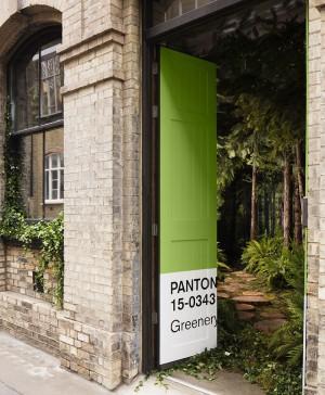 greenery en una casa en londres airbnb y pantone en londres outside in diariodesign