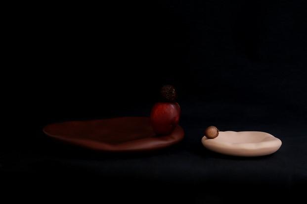 coleccion canova vajilla roja de vajilla Constance Guisset para Moustache diariodesign