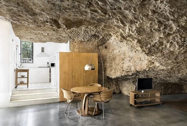 casa cueva en sierra morena diariodesign