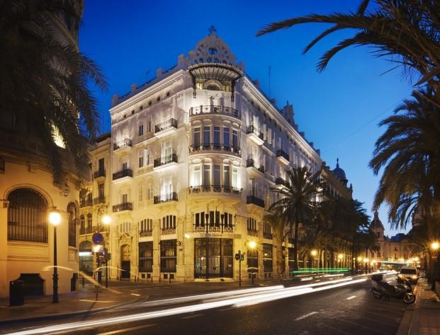 Hotel One Shot Palacio Reina Victoria en Valencia Diario Design 1b