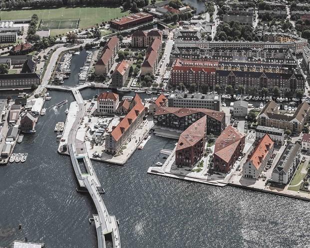 vista aerea apartamentos en copenhage de Krøyers Plads arquitectura democratica Vilhelm Lauritzen Architects y cobe diariodesign
