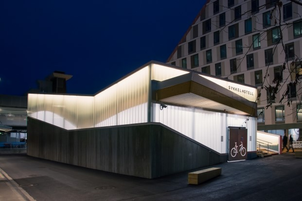 Lillestrom Bicycle Hotel para bicicletas Noruega DiarioDesign