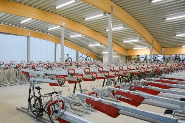 aparcamientos para bicicletas en noruega diariodesign