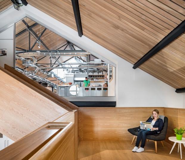 nuevas oficinas del portal de alquiler de apartamentos airbnb The Warehouse en Dublin Diario Design