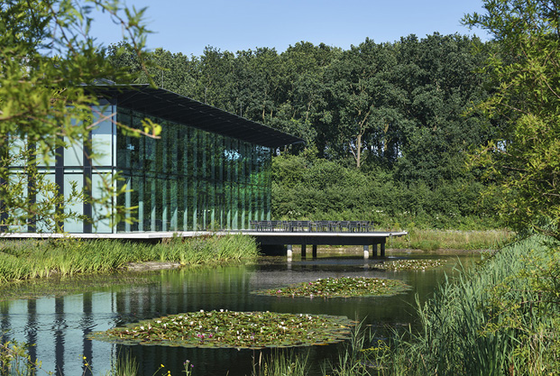 KWR, labs and offices, Nieuwegein, NL, by Cepezed architects, Delft, NL, 2016