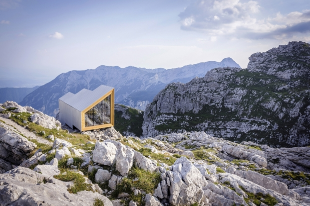 Bivak pod Skuto OFIS Arhitekti finalista premio Mies Van der Rohe