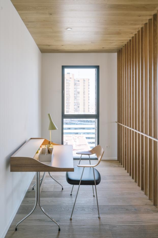 detalle de reforma apartamento en madrid
