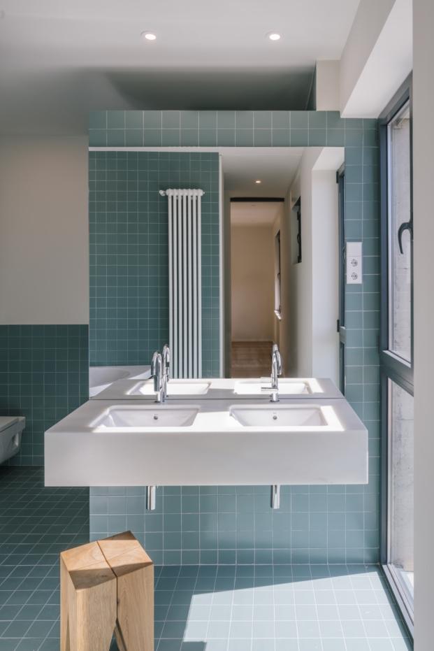 bano de apartamento c181 realizada por zooco estudio