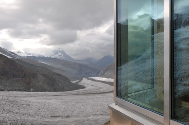 aislamiento termico en Neue Monte Rosa Huette Zermatt diariodesign
