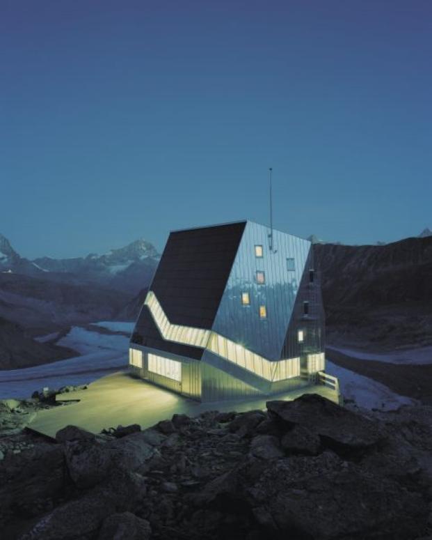 aislamiento termico en Neue Monte Rosa Huette diariodesign