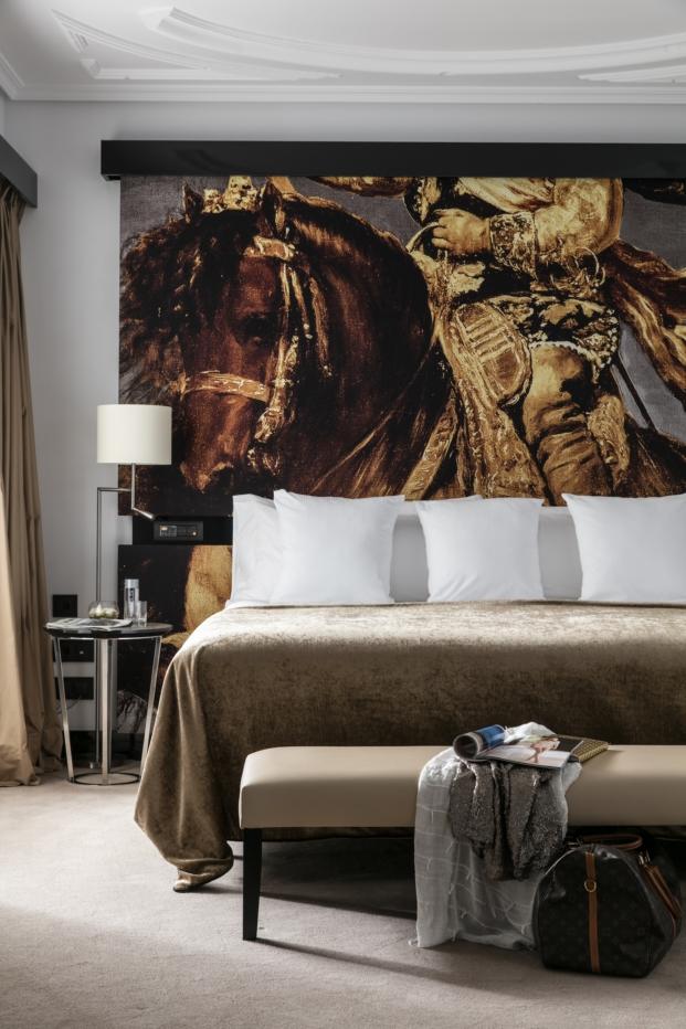 habitacion hotel gran melia palacio de los duques en madrid velazquez diariodesign
