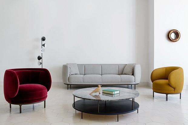 colaboracion de sofas de hayon para wittmann furniture diariodesign