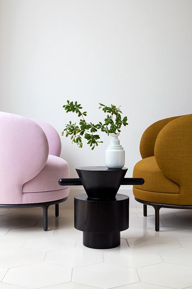 mesas de centro Grain Cut hayon para wittmann furniture diariodesign