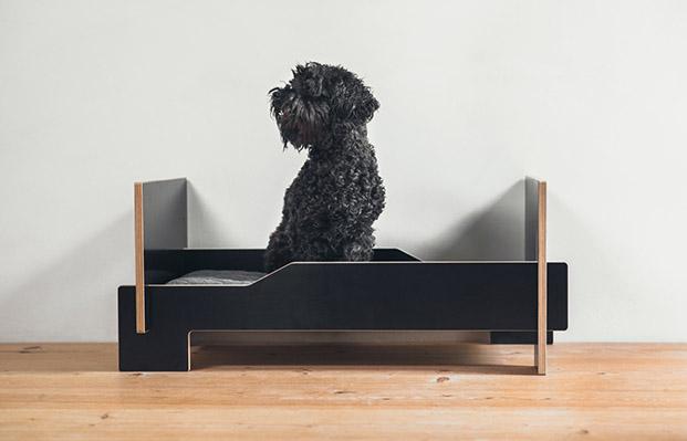 klafferdogbed klaffer cama para mascotas negro perros diariodesign