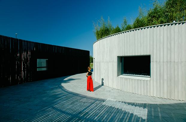 visitor center for architectural miniatures park georgia