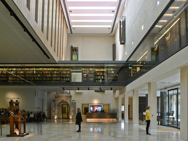 weston library university of oxford inglaterra