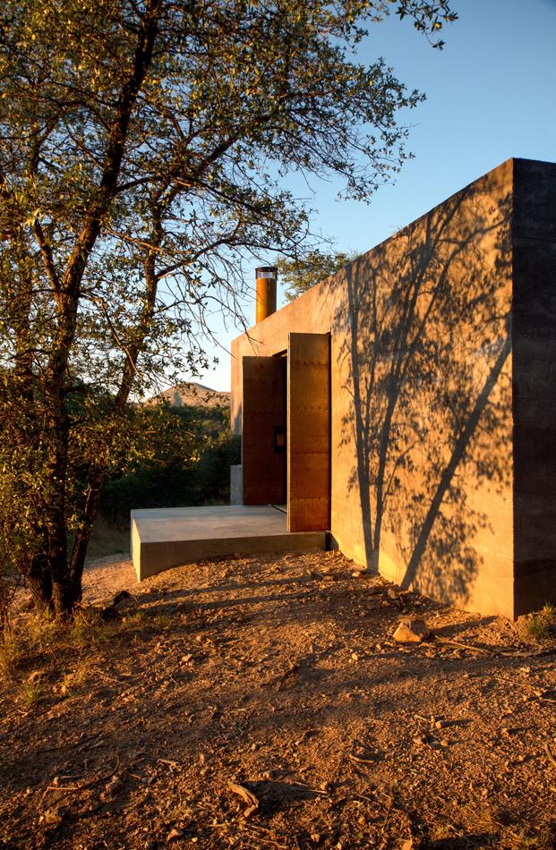 Casa Caldera de dust arquitectos refugio en Mexico diariodesign