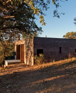 casa Caldera dust refugio en Mexico diariodesign